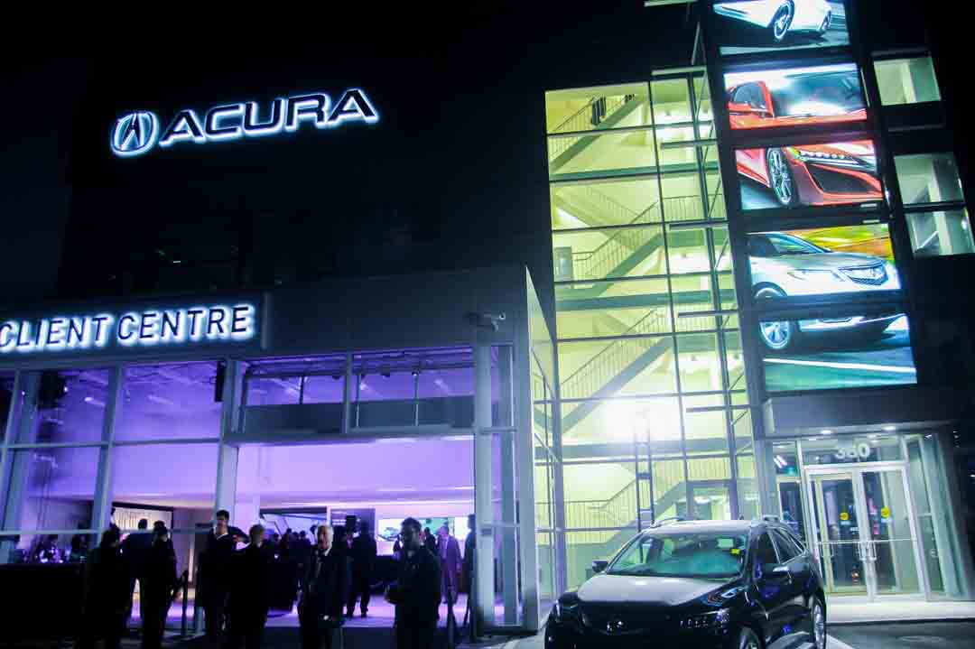 Acura Downtown Grand Opening in Toronto