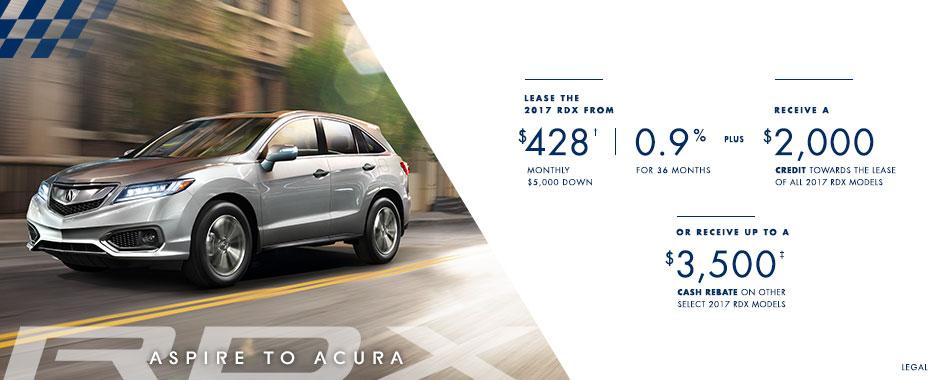 2017 Acura RDX  — Aspire to Acura Event