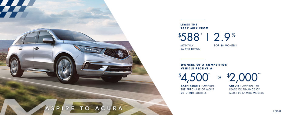 2017 Acura MDX — Summer of Performance