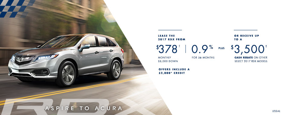 2017 Acura RDX  — Aspire to Acura Event