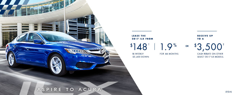 2017 Acura ILX — Aspire to Acura Event