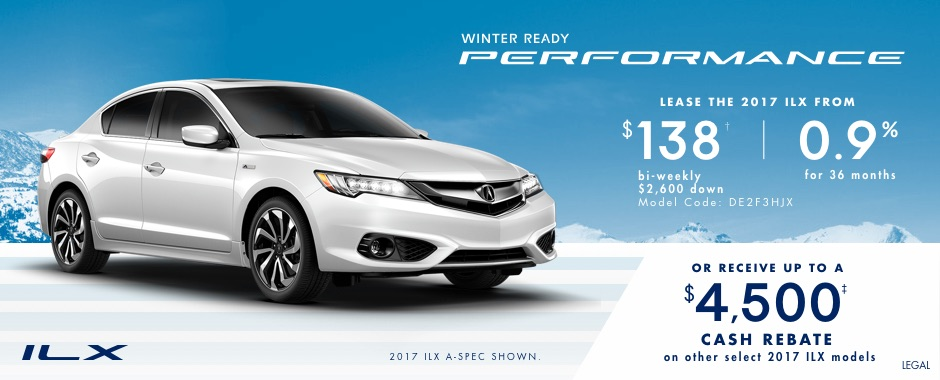 2017 Acura ILX — Winter Ready Performance