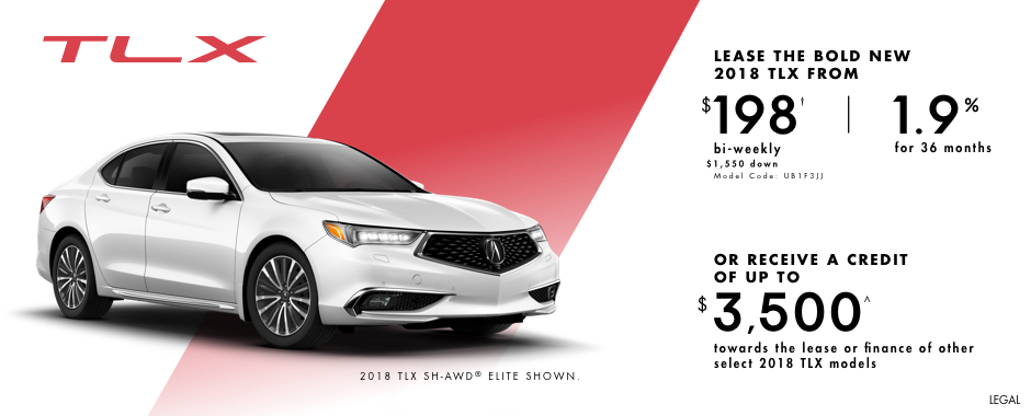 2018 Acura TLX — Pure Performance