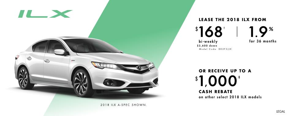 2018 Acura ILX — Pure Performance