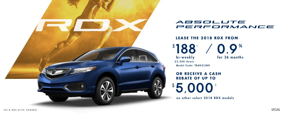 2018 Acura RDX | Absolute Performance