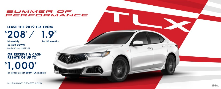 2018 Acura TLX | Summer of Performance
