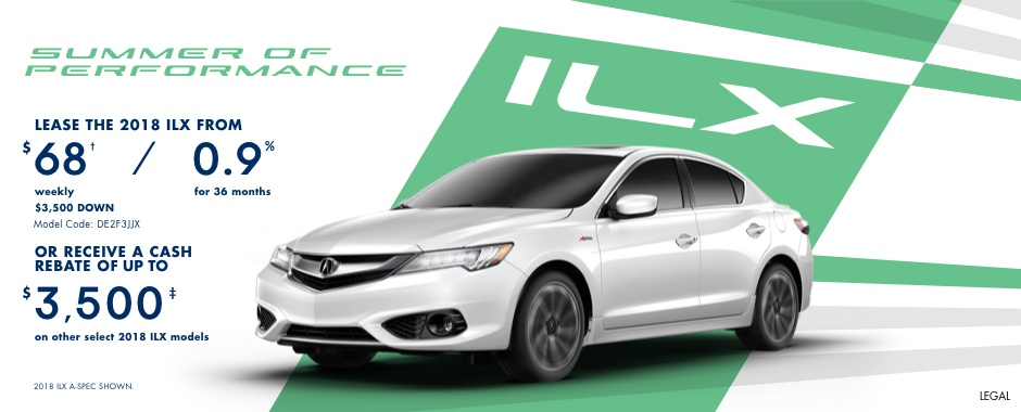 2018 Acura ILX | Summer of Performance