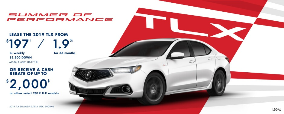 2019 Acura TLX | Summer of Performance