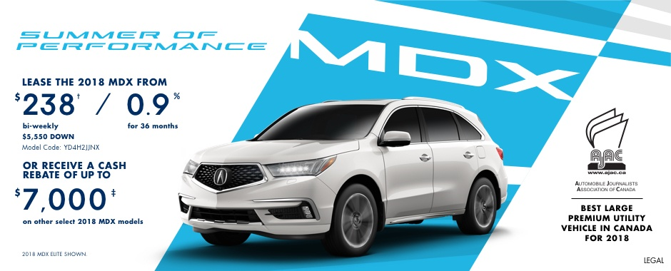 2018 Acura MDX | Summer of Performance