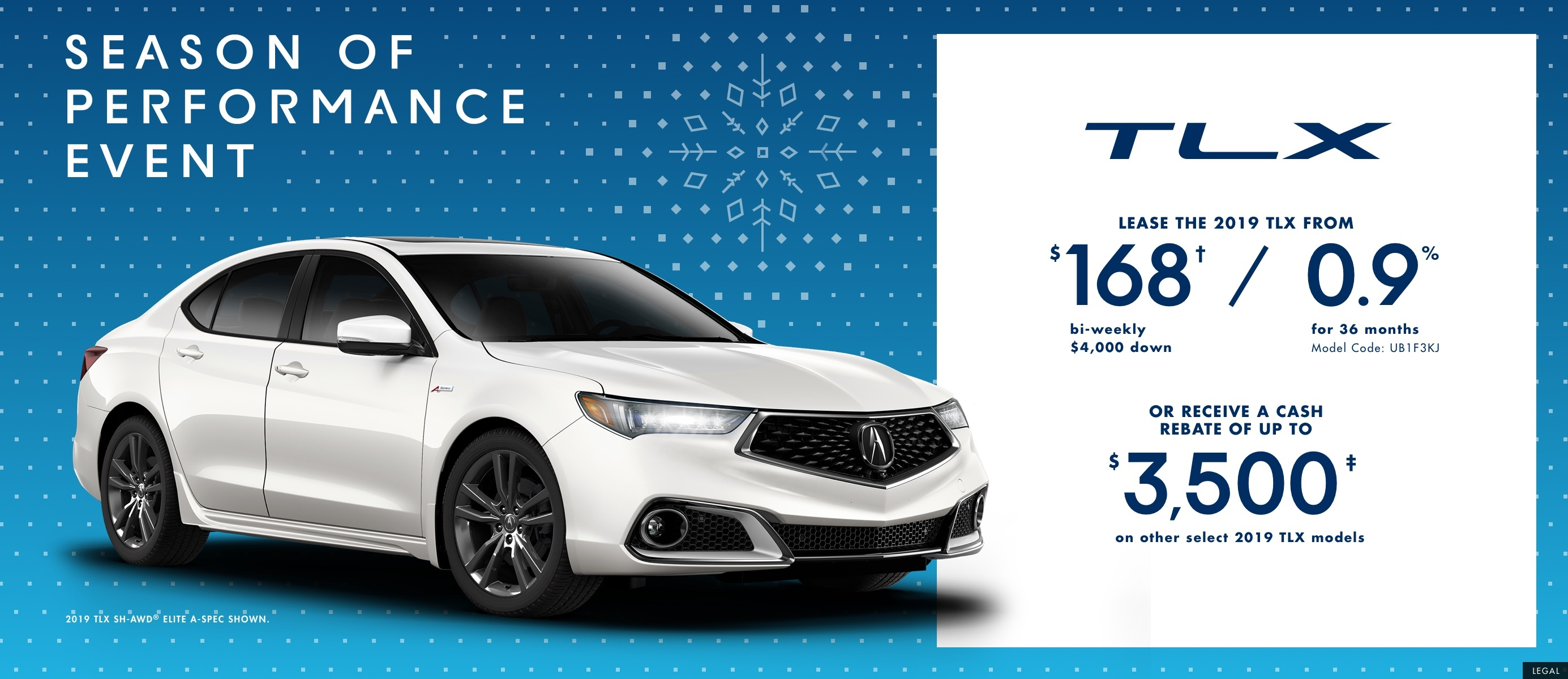 2019 Acura TLX | Season of Performance Event