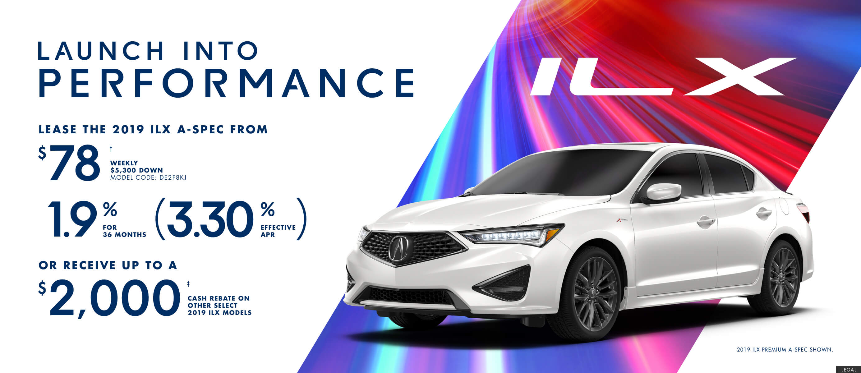 2019 Acura ILX A-SPEC | Launch Into Performance