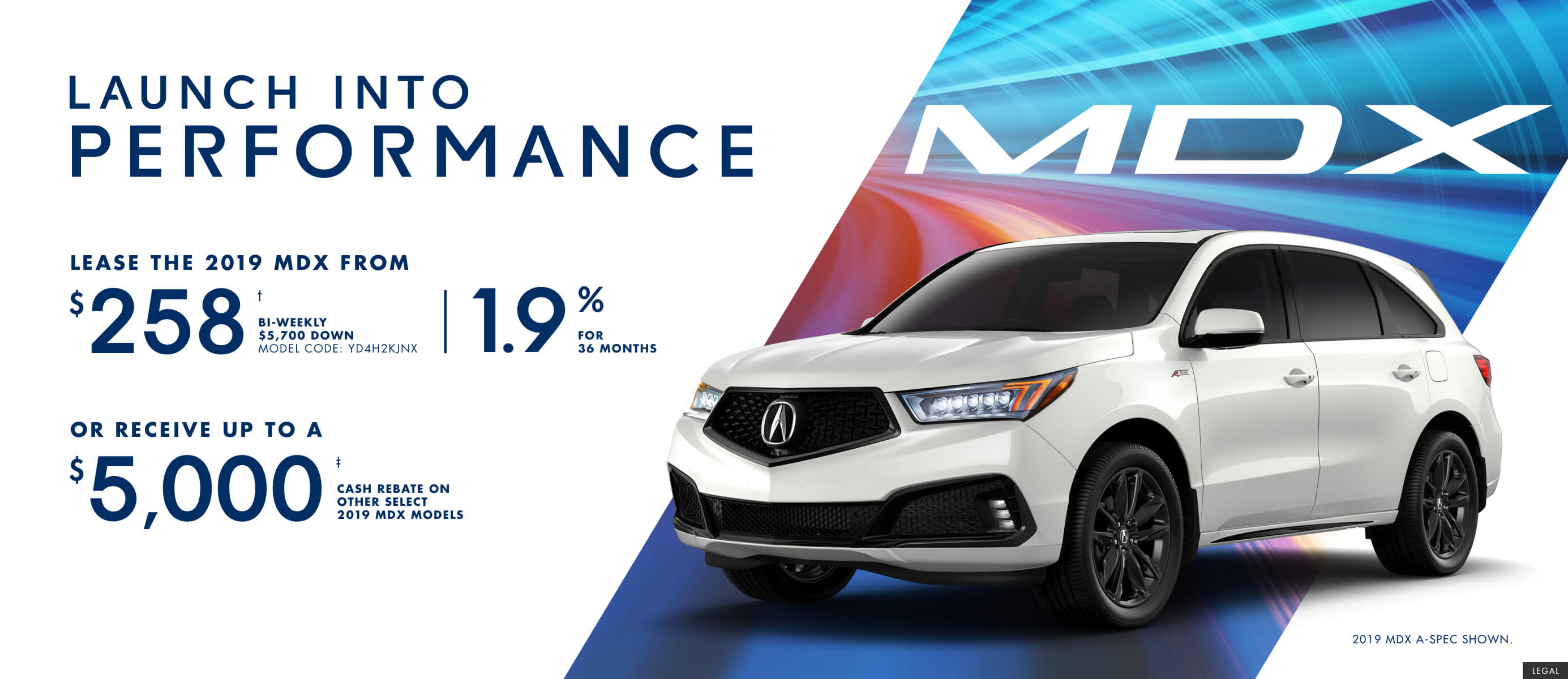 2019 Acura MDX |  Launch Into Performance