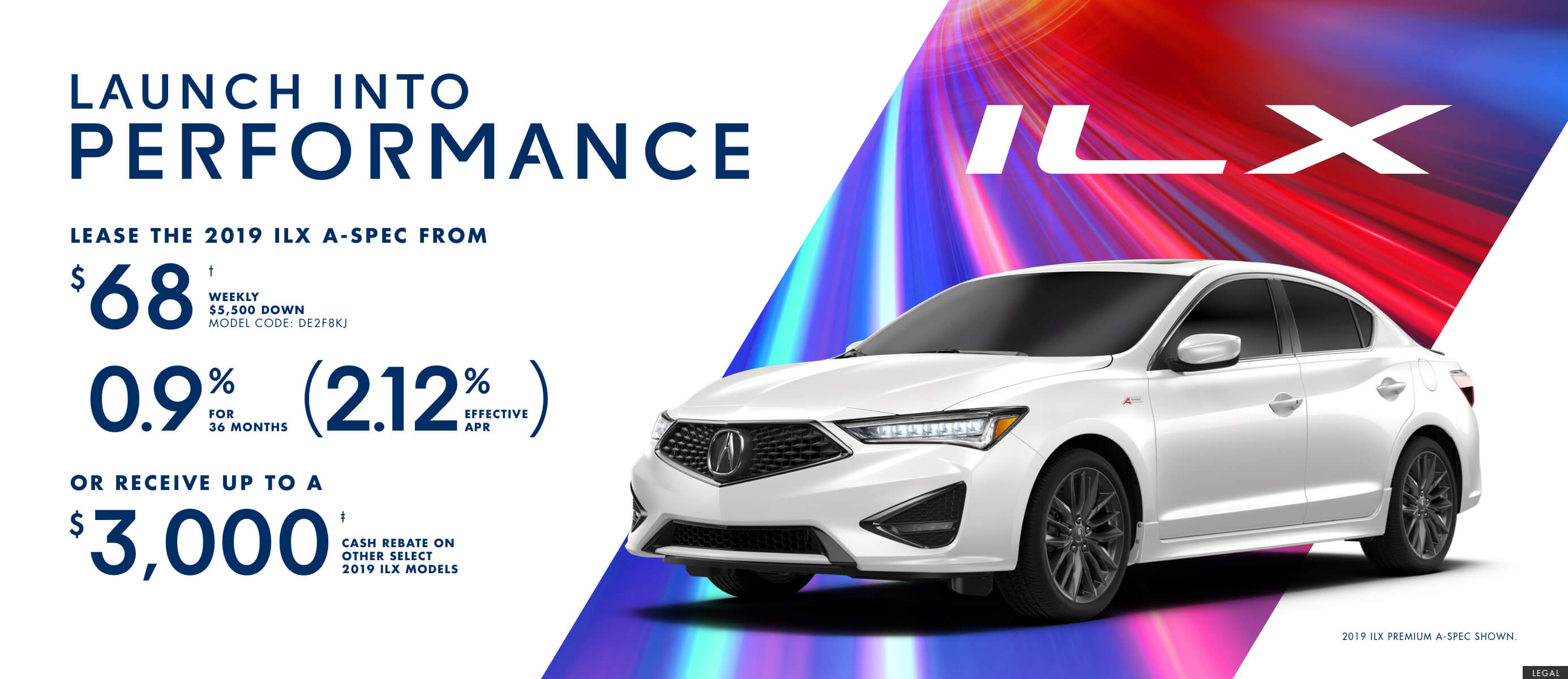 2019 Acura ILX | Launch Into Performance