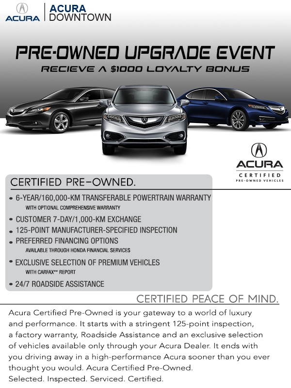 2019 Spring Pre-owned Upgrade Event