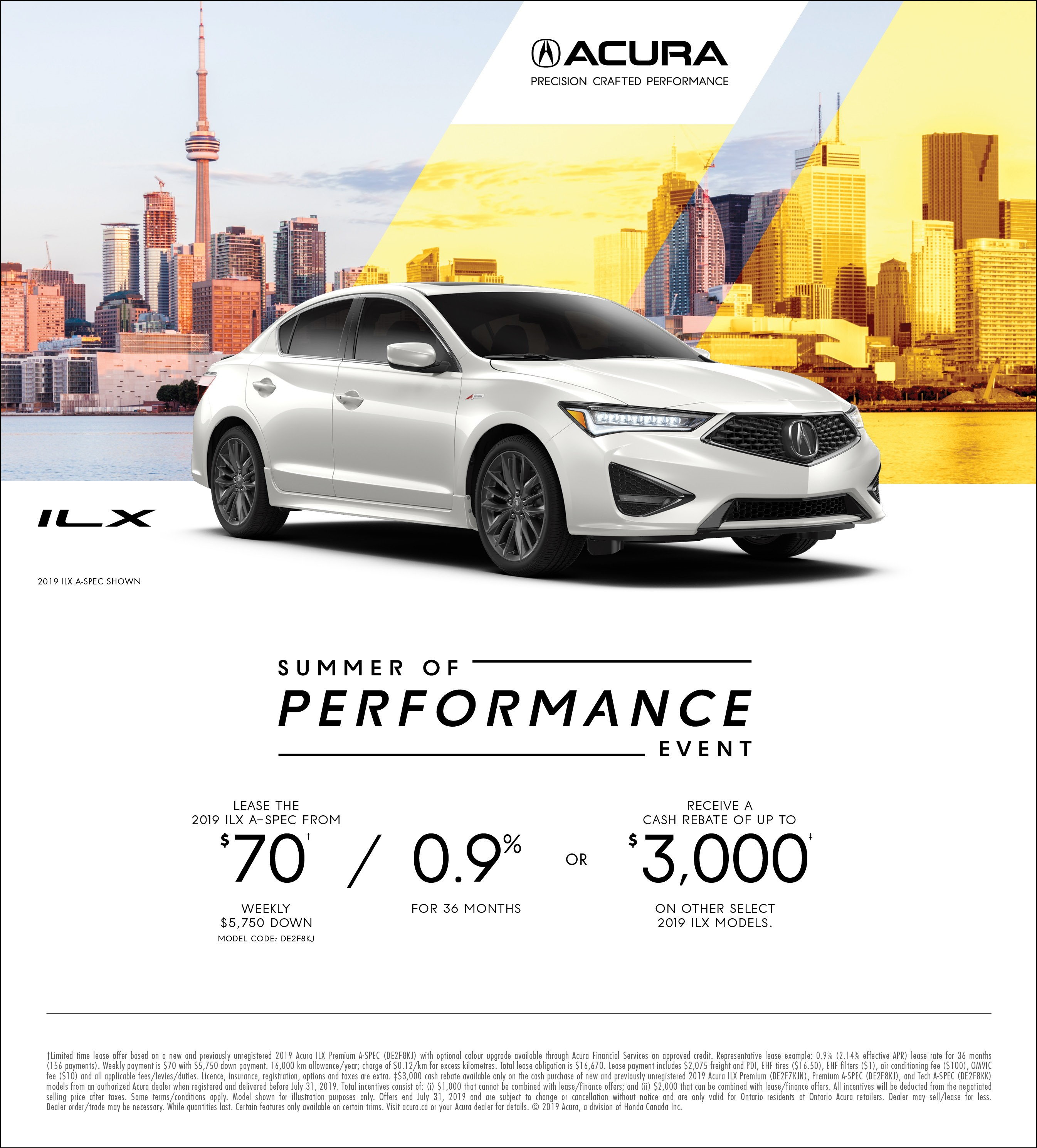 2019 Acura ILX | Summer of Performance Event