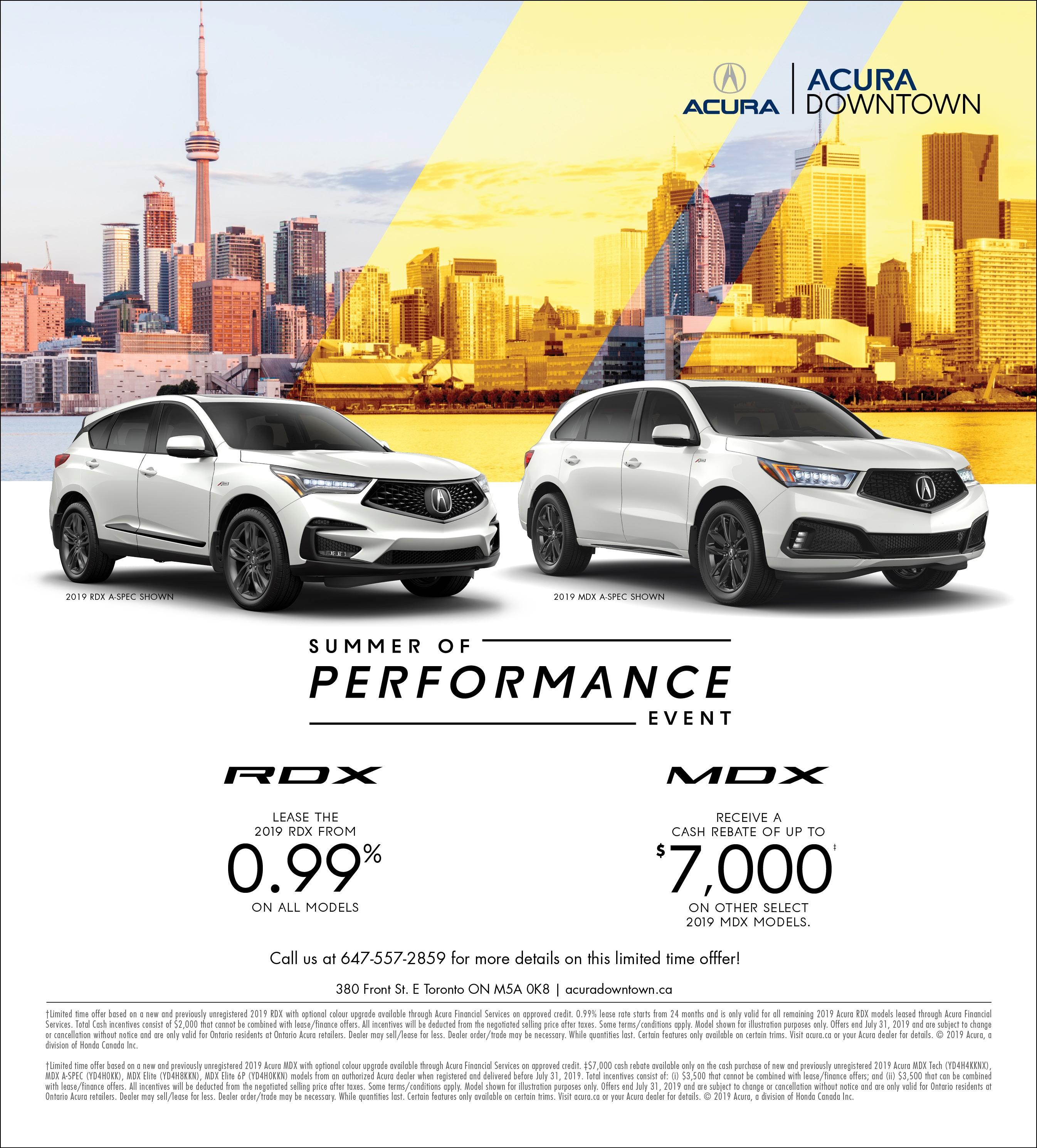 2019 Acura MDX Vs Acura RDX