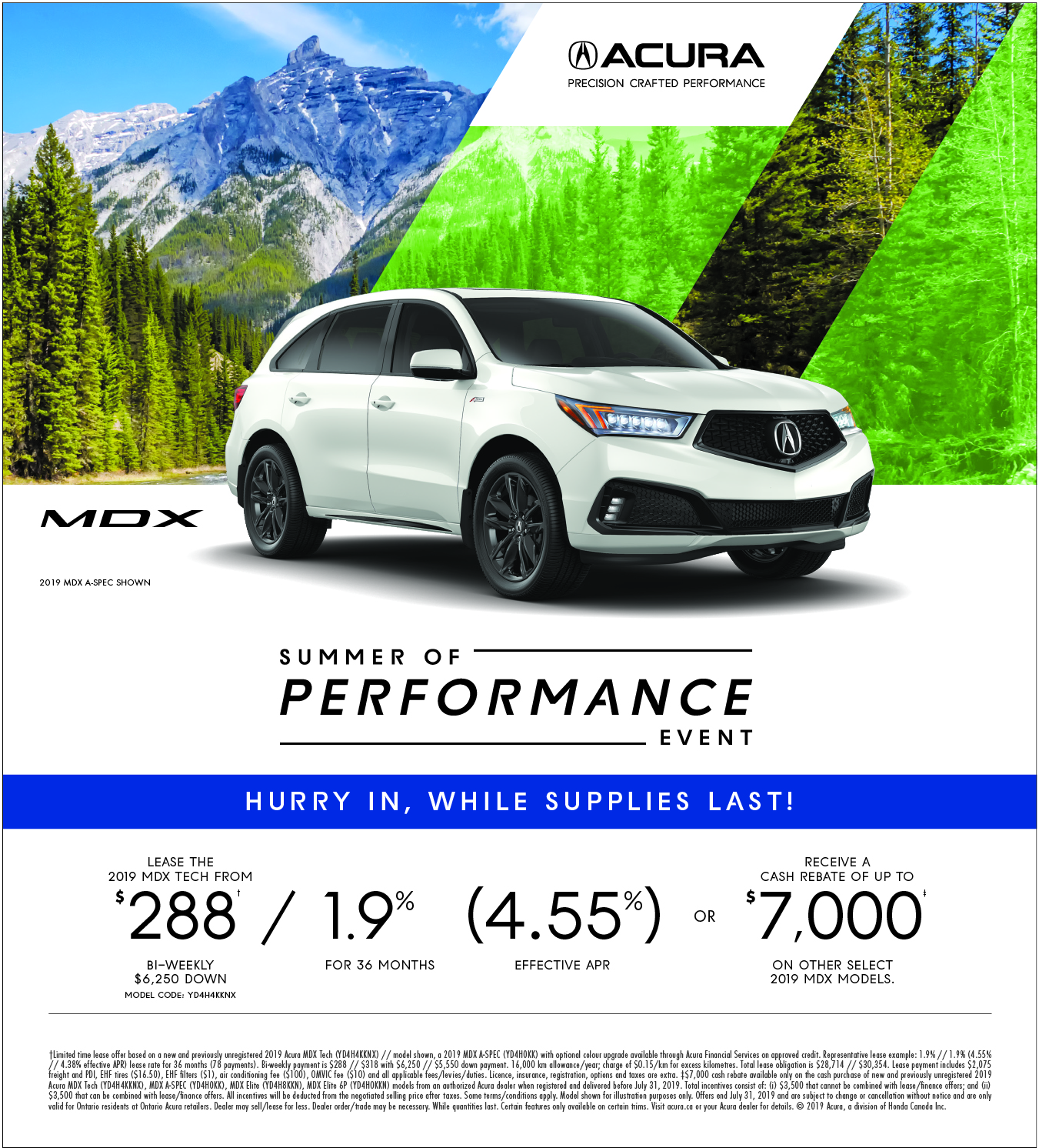2019 Acura MDX | Summer of Performance Event