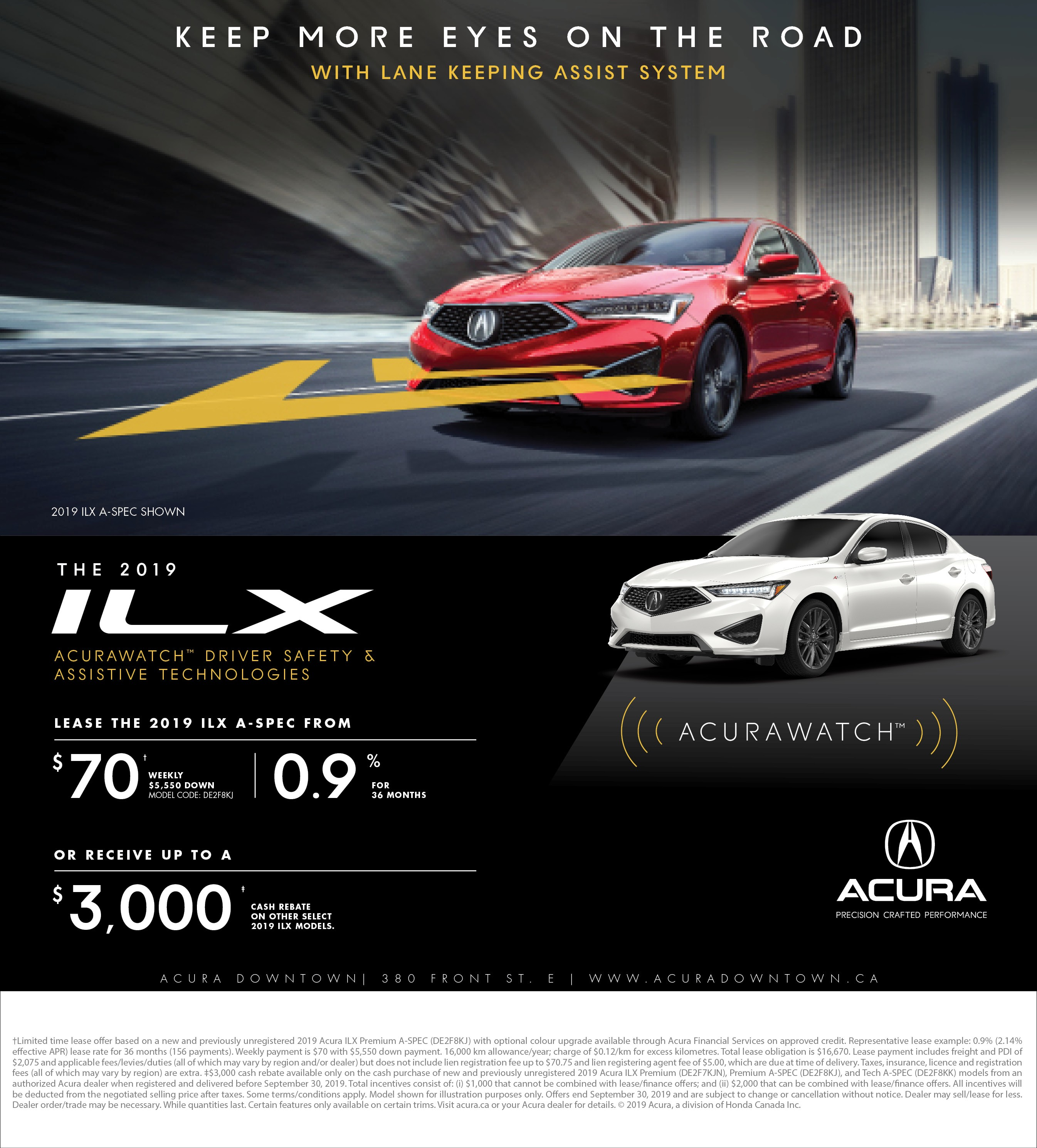 September Special - Acura Downtown
