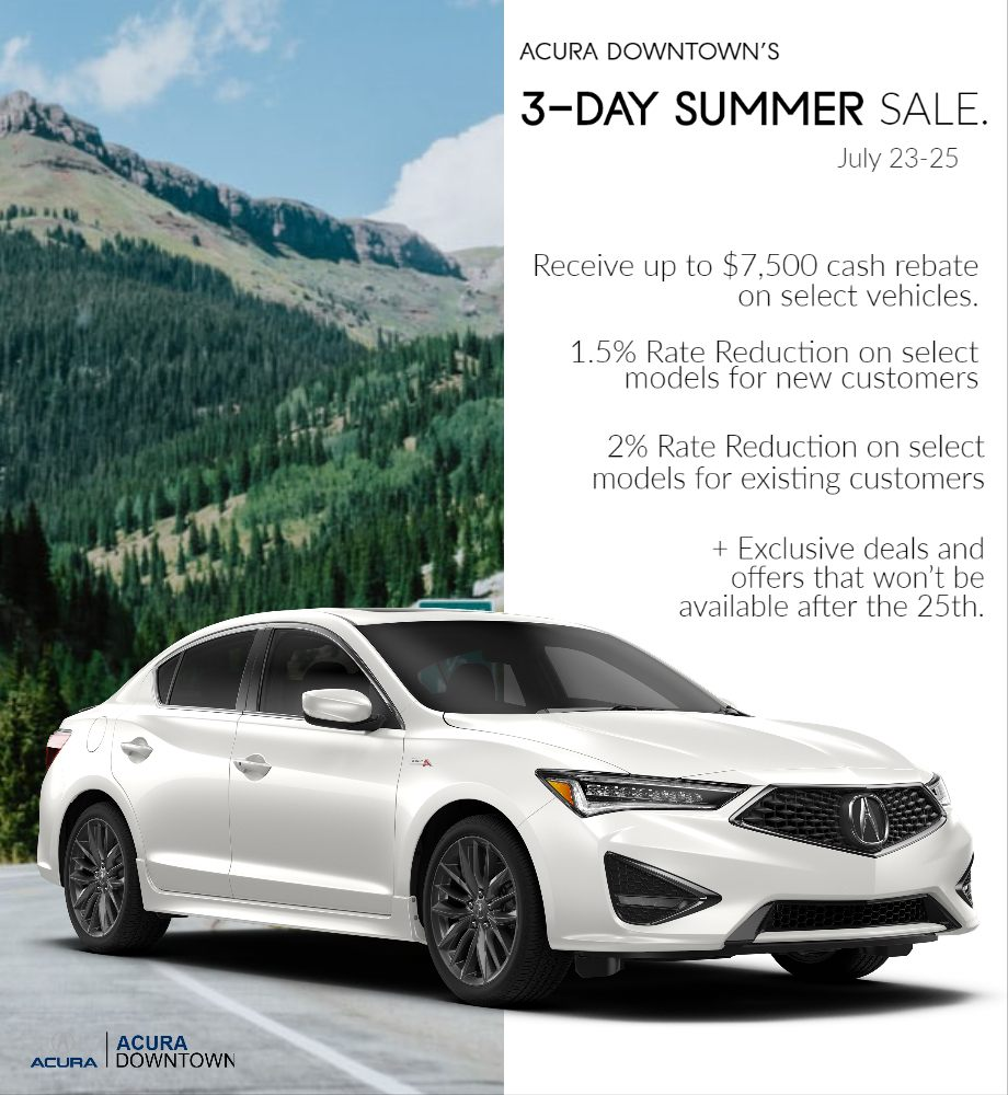 3-Day Summer Sales Event