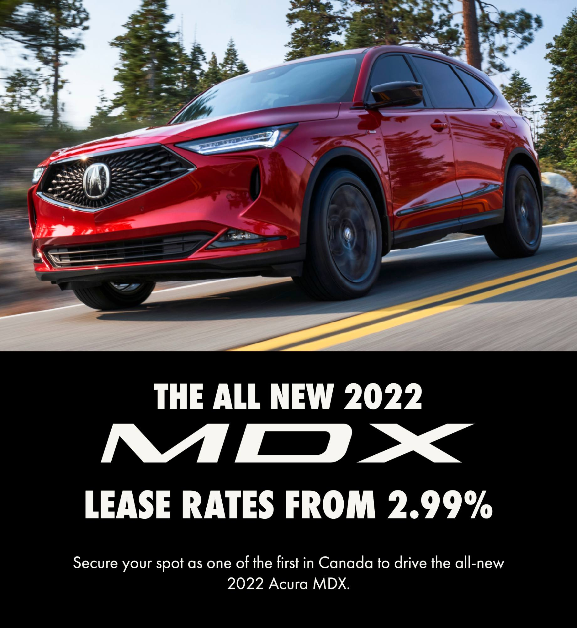 Reserve your all-new 2022 MDX!